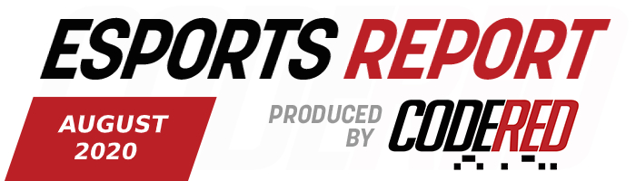 Code Red Esports Report – August 2020