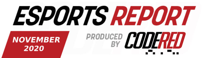 Code Red Esports Report – November 2020